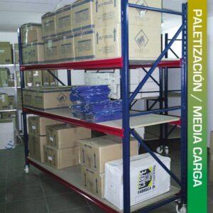 PALETIZACIÓN - Media carga manual